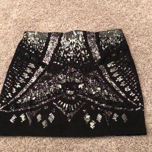 Express Skirts - Express Sequence Skirt